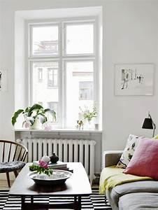 Idee Salon Scandinave : id e d co salon scandinave cosy et lumineux ~ Melissatoandfro.com Idées de Décoration