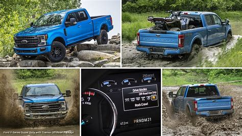 ford  series super duty  tremor  road package