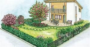 zwei ideen fur einen pflegeleichten garten mein schoner With französischer balkon mit www mein schöner garten de gartenplanung