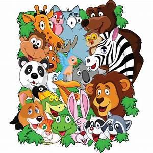 Stickers Animaux De La Jungle : stickers enfant animaux de la jungle stickers autocollants ~ Mglfilm.com Idées de Décoration