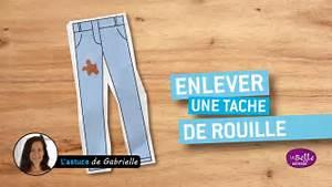 Comment Enlever La Rouille : comment enlever une tache de rouille youtube ~ Melissatoandfro.com Idées de Décoration