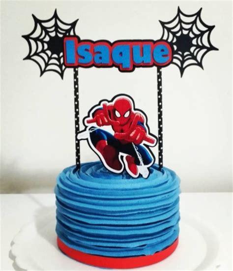 bolo do homem aranha 57 para se inspirar passo a passo