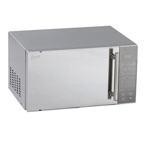 Stainless Steel Countertop Microwave by Avanti 0 8 Cu Ft Countertop Microwave In Stainless Steel