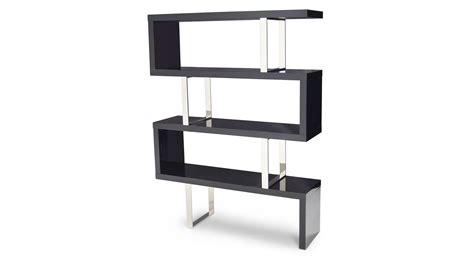 20 Inch High Bookcase by 42 High Gloss Black Bookcase Large Black White Gloss