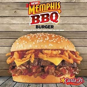 Carl's Jr. New Memphis BBQ Burger