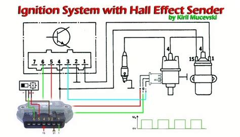 Effect Distributor Wiring Diagram by Bosch Ignition System With Effect Sender In This