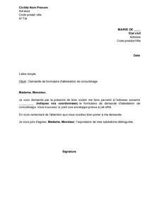 Attestation Vie Maritale by Modele Attestation Vie Commune Document Online