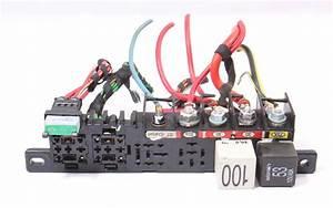 Under Dash Relay Wiring Panel Board 99