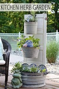 Outdoor Herb Garden Ideas - The Idea Room