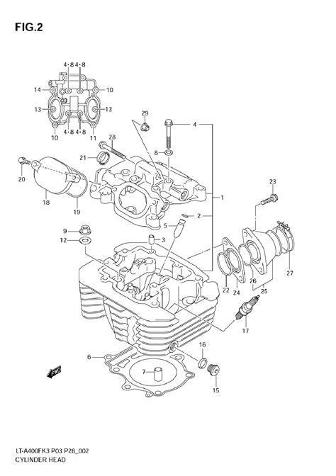 Suzuki Eiger Parts by 2003 Suzuki Lt A400f Eiger 4x4 Auto Parts And Accessories