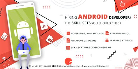 what are the skill you should check for hiring android app developers mobile app