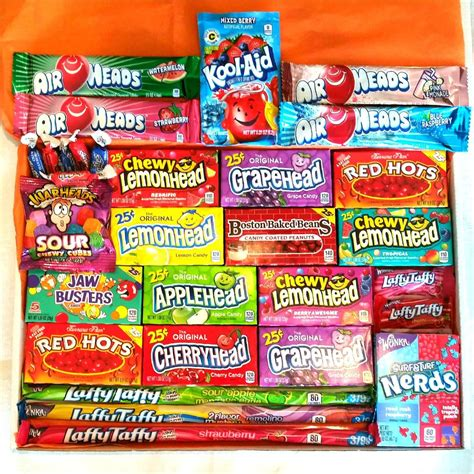 Extra Large American Candy Hamper Gift Box – A Taste of ...