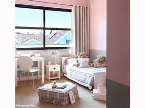 Deco Chambre Bebe Fille Gris Rose : deco chambre bebe fille rose et gris ~ Teatrodelosmanantiales.com Idées de Décoration