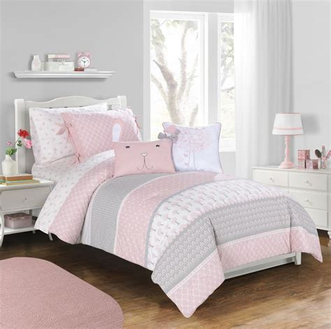 gray and pink comforter set pin by frank lulu on pink gray room