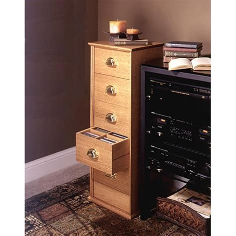 cd storage cabinet woodworking plan  wood magazine