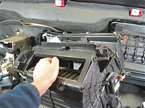 manual repair free 2009 chevrolet equinox lane departure warning how to fix 2009 pontiac torrent heater blend repair guides heater core removal installation
