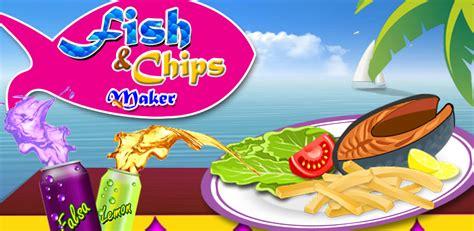 chips de friture de poissons maker jeux de cuisine pour