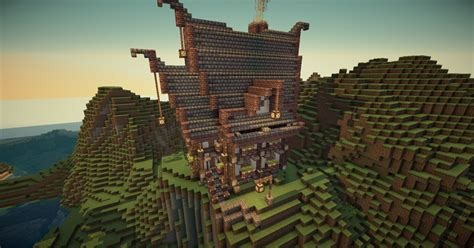 medieval house    minecraft map