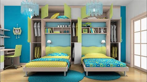awesome twin bedroom design ideas  double bed  boys