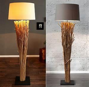 Lampe Aus Treibholz : stehlampe stehleuchte faro 175cm design treibholz schwemmholz lampe farbwahl neu ebay ~ Indierocktalk.com Haus und Dekorationen
