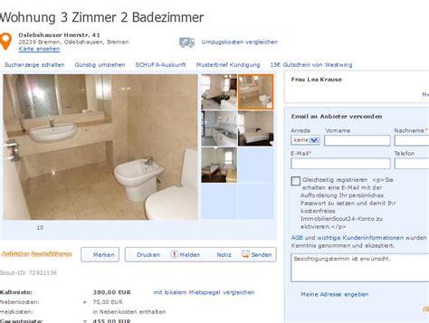 2 3 Zimmer Wohnung Bremen by Wohnungsbetrug Itgap Aol Alias Itgap