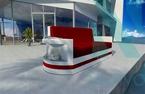 Rattan Sofa 2 Sitzer : rattan lounge sofa atlantis 2 sitzer v2 von nativo m bel ~ Whattoseeinmadrid.com Haus und Dekorationen