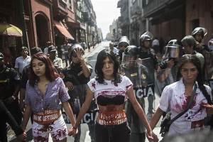 Peru Election 2016: Thousands Protest Over Keiko Fujimori ...