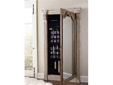 Hooker Furniture Chatelet Floor Mirror W/jewelry Armoire