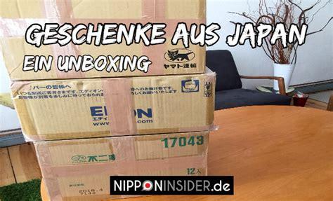 Zu Verschenken by Geschenke Aus Japan Unboxing Nippon Insider Japan