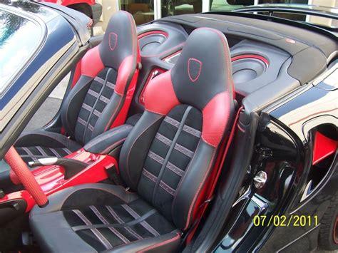 Custom Porsche Interior by Customized Porsche 996 Top Stitch Upholstery Custom