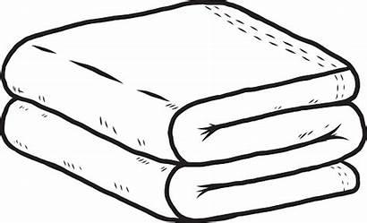 Towel Vector Fold Clip Illustration Illustrations Vectors