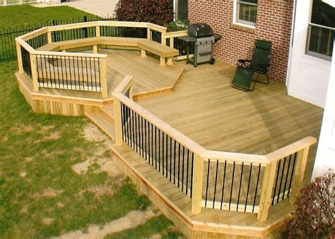 back yard deck ideas backyard deck ideas home round