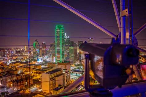 Reunion Tower Observation Deck Promo Code by Reunion Tower In Dallas Restaurants Tour