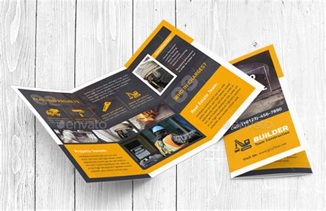 Construction Brochure Design Pdf by 19 Construction Company Brochure Templates Free Pdf Templates