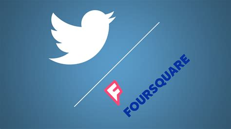 Rumor: Twitter To Check Into A Partnership With Foursquare ...
