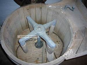 Waschmaschine Abdeckung Holz : antike waschmaschine miele holzbottich motor ~ Lizthompson.info Haus und Dekorationen