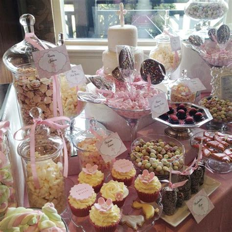 pink dessert table candy buffets  sweetie tables
