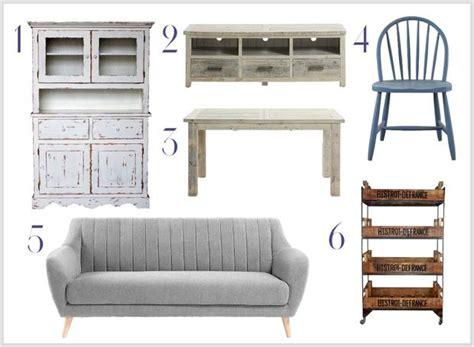 muebles de diferentes estilos vintage