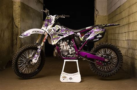 purple motocross 03 yz250f graphics lets see your upgrades general