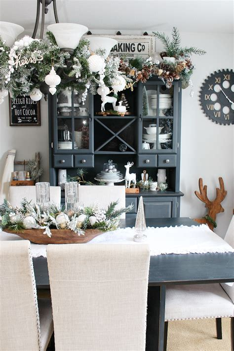 decorated room farmhouse dining room decorations clean and