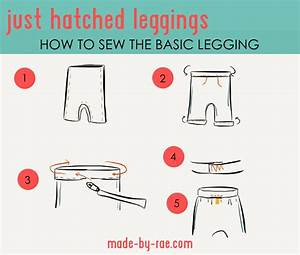 Just Hatched Basic Sewing Diagram