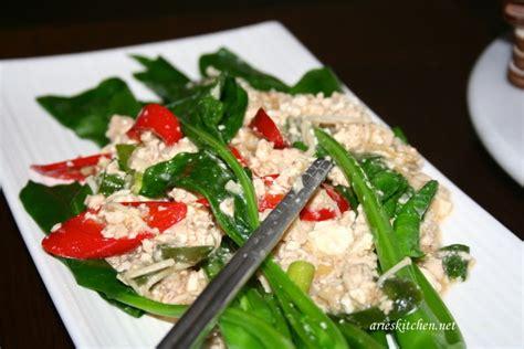 Tahu, goreng dan potong2 bentuk dadu. Resep Sawi Vegetarian / Easy And Quick Pinakbet Vegan ...
