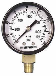 Marshalltown Value Series Pressure Gauges