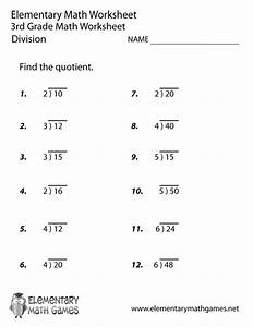3rd Grade Worksheet Category Page 7