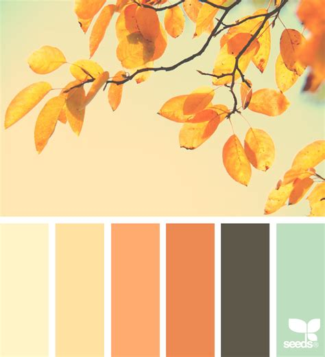 color by design 15 peaceful nursery palettes inspired by autumn