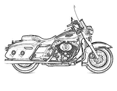 harley davidson drawing images