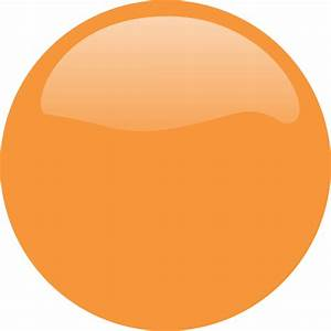 Orange Circle Icon Clip Art at Clker.com - vector clip art ...