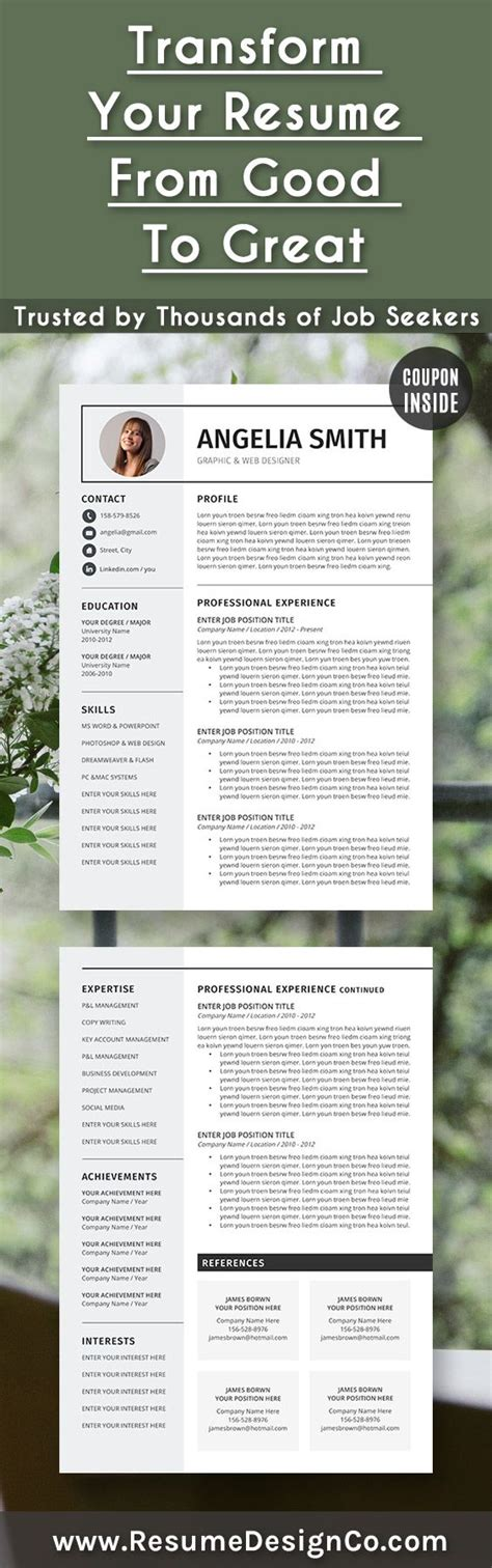 Trusted Free Resume Templates For Mac Reddit by 1000 Ideas About Cv Templates Word On Pinterest