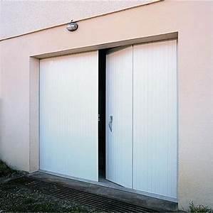 porte pliante a 4 vantaux porte de garage janiclos With porte de garage a la francaise 4 vantaux