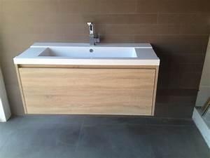 Badmöbel Mit Waschbecken : badm bel unterschrank ferrano 60 cm mit mineralguss ~ Orissabook.com Haus und Dekorationen